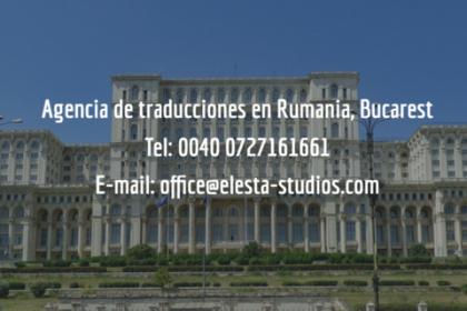 agencia de traducciones Rumania
